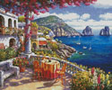 Capri Morning - Cross Stitch Chart