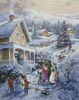 Carolers - Cross Stitch Chart