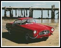 Car on Beach - Cross Stitch Chart