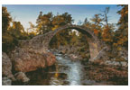 Carrbridge Packhorse Bridge - Cross Stitch Chart