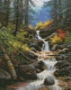 Cascade Creek - Cross Stitch Chart