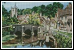 Castle Combe, Wiltshire - Cross Stitch Chart