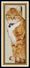 Cat 2 Bookmark - Cross Stitch Chart