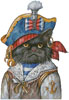 Cat Pirate - Cross Stitch Chart