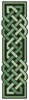 Celtic Bookmark 10 - Cross Stitch Chart