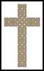 Celtic Cross 2 - Cross Stitch Chart