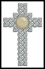 Celtic Cross June (Pearl) - Cross Stitch Chart