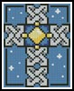 Celtic Cross Small - Cross Stitch Chart