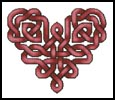 Celtic Heart - Cross Stitch Chart