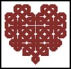 Celtic Heart 2 - Cross Stitch Chart
