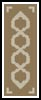 Celtic Knot Bookmark 2 - Cross Stitch Chart