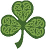 Celtic Shamrock - (Facebook Group) Cross Stitch Chart