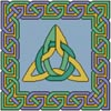 Celtic Square 1 - Cross Stitch Chart