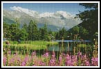 Champex, Switzerland - Cross Stitch Chart