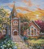 Charming Tranquility 2 (Crop) - Cross Stitch Chart