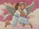 Cherubs Kiss - Cross Stitch Chart