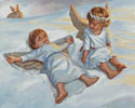 Cherubs Snow Angels - Cross Stitch Chart