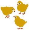 Chicks - Cross Stitch Chart