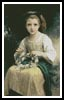 Child Braiding a Crown - Cross Stitch Chart