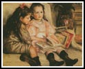 Children of Martial Caillebotte - Cross Stitch Chart