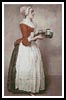 The Chocolate Girl - Cross Stitch Chart