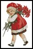 Christmas Girl 2 - Cross Stitch Chart
