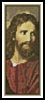 Christ at 33 Bookmark - Cross Stitch Chart