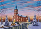 Christmas at our Lady of Victory - Cross Stitch Chart