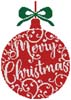 Christmas Bauble 2 - Cross Stitch Chart