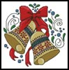 Christmas Bells 2 - Cross Stitch Chart