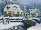 Christmas Cottage - Cross Stitch Chart