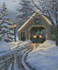 Christmas Crossing (Crop) - Cross Stitch Chart