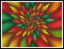 Christmas Fractal - Cross Stitch Chart