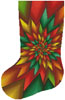 Christmas Fractal Stocking (Left) - Cross Stitch Chart