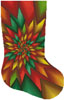 Christmas Fractal Stocking (Right) - Cross Stitch Chart