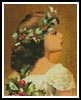 Christmas Girl - Cross Stitch Chart