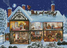 Christmas House 1 - Cross Stitch Chart