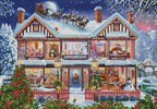 Christmas House 2 - Cross Stitch Chart