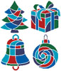 Christmas Icons 1 - Cross Stitch Chart