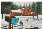 Christmas in Big Bear - Cross Stitch Chart