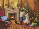 Christmas Interior - Cross Stitch Chart