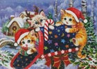 Christmas Mailbox - Cross Stitch Chart