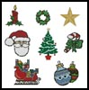 Christmas Motifs 3 - Cross Stitch Chart