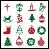 Christmas Motifs 5 - Cross Stitch Chart