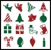 Christmas Motifs 6 - Cross Stitch Chart