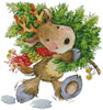 Christmas Reindeer - Cross Stitch Chart