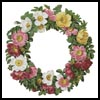 Christmas Roses - Cross Stitch Chart