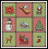 Christmas Sampler - Cross Stitch Chart