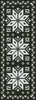 Christmas Snowflake Bookmark (Facebook Group) Cross Stitch Chart