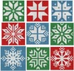 Christmas Snowflake Set 3 - Cross Stitch Chart